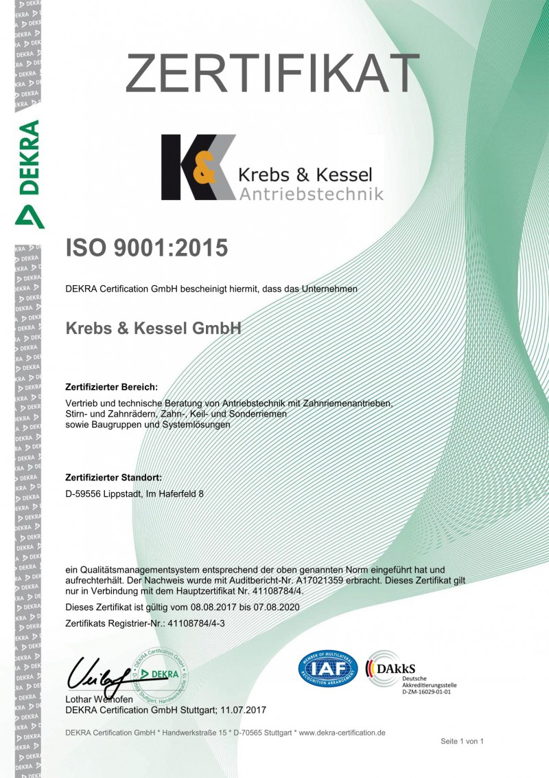 News | Krebs & Kessel GmbH